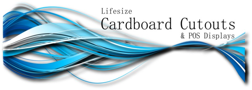 Life Size Cardboard Cutouts Custom Made Lifesize Standee UK